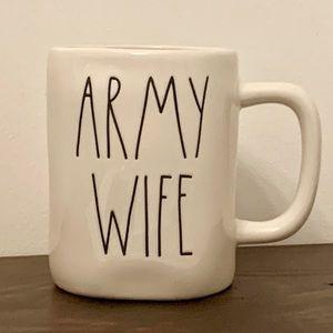 Rae Dunn ARMY WIFE Mug